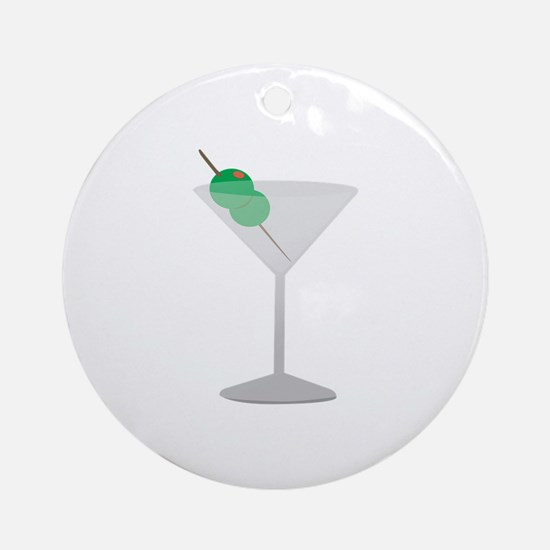 Olives Drink Ornament (Round)