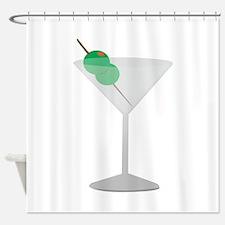 Olives Drink Shower Curtain