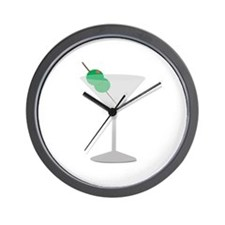 Olives Drink Wall Clock