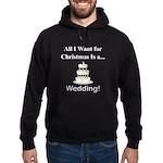 Christmas Wedding Hoodie (dark)