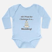Christmas Wedding Long Sleeve Infant Bodysuit