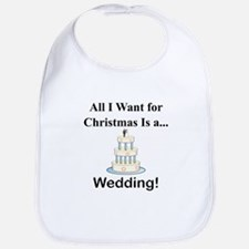 Christmas Wedding Bib