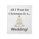 Christmas Wedding Throw Blanket