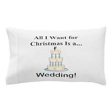 Christmas Wedding Pillow Case