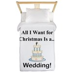 Christmas Wedding Twin Duvet