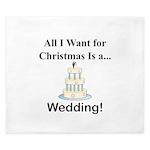 Christmas Wedding King Duvet