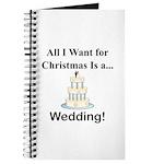 Christmas Wedding Journal