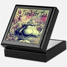 Time for tea Keepsake Box