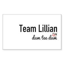 Team Lillian - Dum Tee Dum Decal