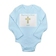 Cute Christian girl Long Sleeve Infant Bodysuit