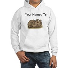 Custom Bear Napping Hoodie
