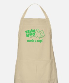 This Guy Needs a Nap Apron