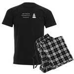 Christmas Husband Men's Dark Pajamas