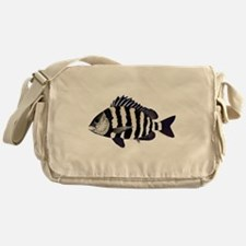 Sheepshead porgy Messenger Bag