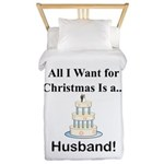 Christmas Husband Twin Duvet
