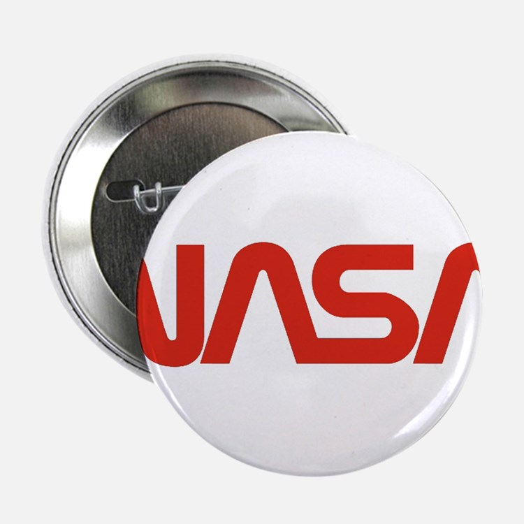 """NASA Snake (worm) 2.25"""" Button (10 pack)"""