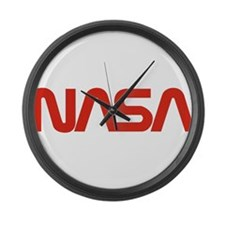 NASA Snake (worm) Large Wall Clock