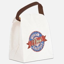 World's Greatest Dad Canvas Lunch Bag
