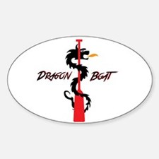 Tribal Paddle Text Decal