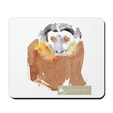 Common Brown Lemur Mousepad
