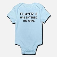 Player 3 Has Entered The Game Infant Body Suit