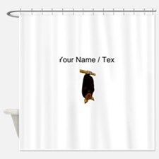Custom Bat Hanging Shower Curtain