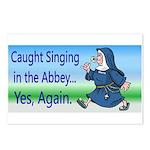 SingingNunPlates.png Postcards (Package of 8)