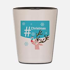 Cute Twitter personalize Shot Glass