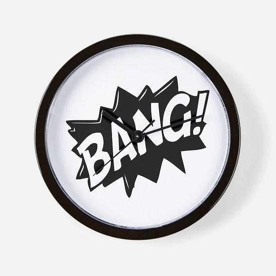Bang Wall Clock