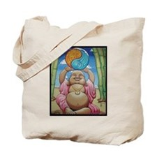 Jolly Buddha Tote Bag