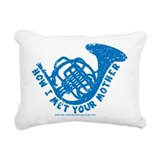 HIMYM French Horn Rectangular Canvas Pillow