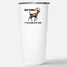 Cute Deer antlers Travel Mug