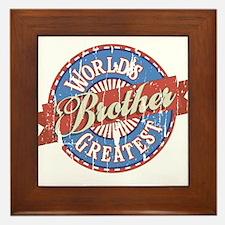 World's Greatest Brother Framed Tile