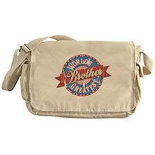 World's Greatest Brother Messenger Bag