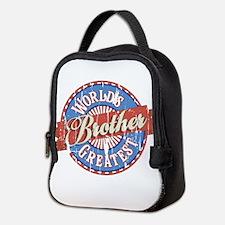 World's Greatest Brother Neoprene Lunch Bag