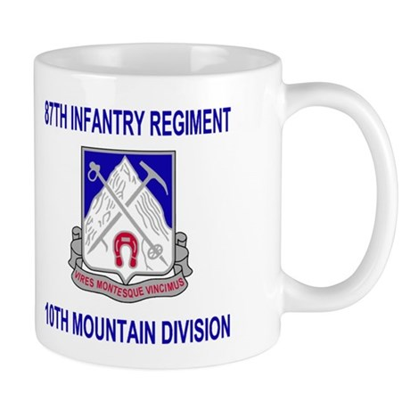 87th Infantry Regiment <BR> Family Coffee Cup