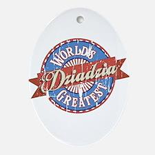 World's Greatest Dziadzia Ornament (Oval)