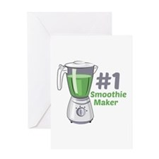 #1 Smoothie Maker Greeting Cards