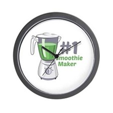 #1 Smoothie Maker Wall Clock