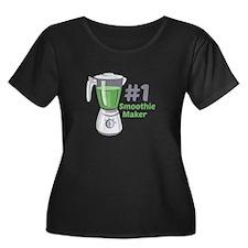 #1 Smoothie Maker Plus Size T-Shirt