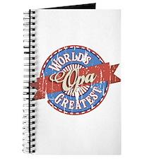 World's Greatest Opa Journal