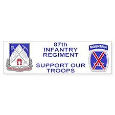 87th Infantry Regiment <BR>Family Bumper Bumper Sticker