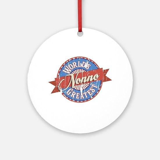 World's Greatest Nonno Ornament (Round)