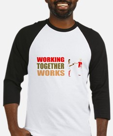 Motivational work business Baseball Jersey