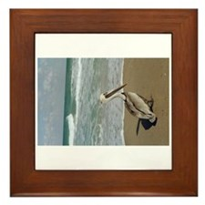 Pelican, Jensen Beach, Fl, framed tile