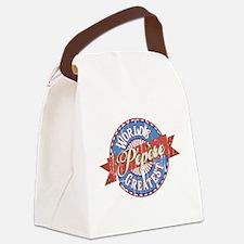 World's Greatest Pépère Canvas Lunch Bag