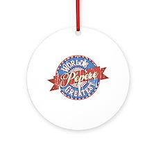 World's Greatest Pépère Ornament (Round)