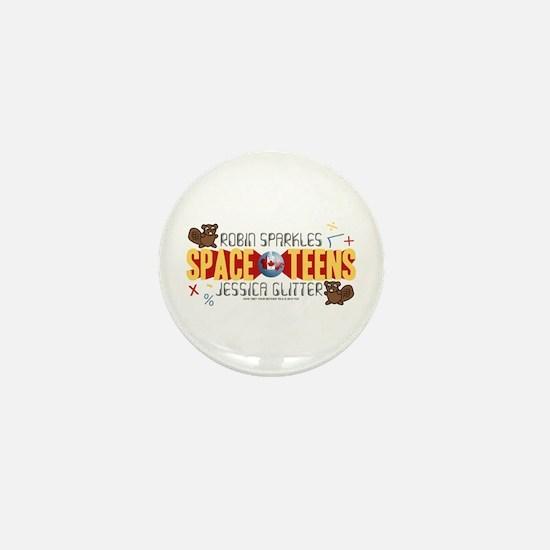 HIMYM Space Teens Mini Button