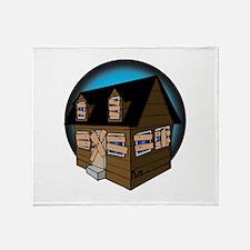 Trap House Throw Blanket