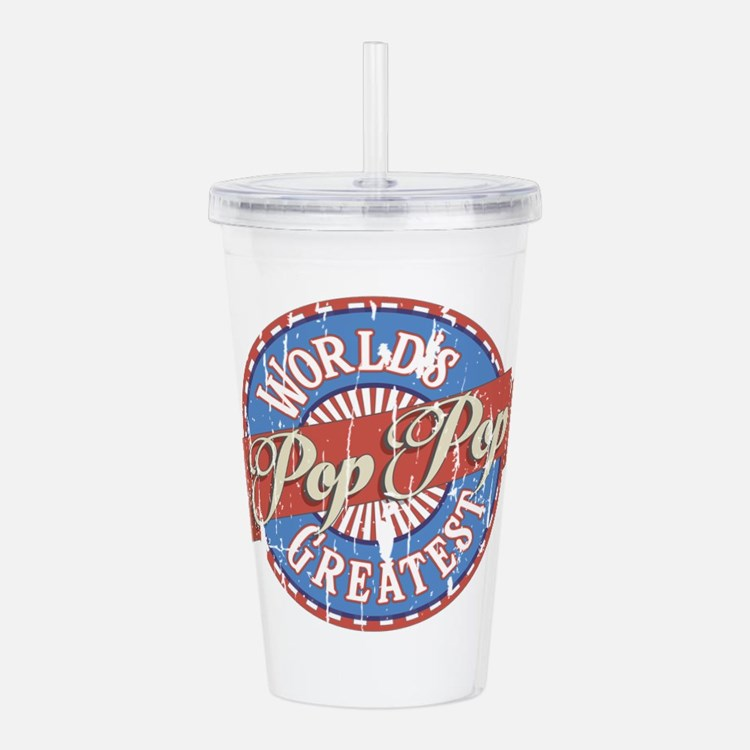 World's Greatest PopPo Acrylic Double-wall Tumbler